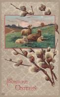 Fröhliche Ostern Schafe Gelaufen 22.3.13 - Ostern