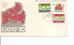 Exposition De Osaka -1970 ( FDC D'Indonésie à Voir) - 1970 – Osaka (Japan)