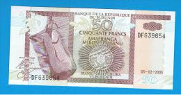 BURUNDI - 50 Francs 2005 SC  P-36 - Burundi