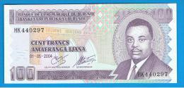BURUNDI - 100 Francs 2004 SC  P-37 - Burundi
