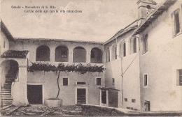 """TOSCANA- Cascia """" Monastero Di S. Rita Cortile Delle Api Con La Vite Miracolosa"""" BEN CONSERVATA 100% ORIGINALE D´ EPOCA - Pisa"""