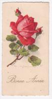 Mignonnette 6x11.8 - Bonne Année - Illustrée Par C Klein - Bouton De Roses - Circulé Sans Date - Wensen En Feesten