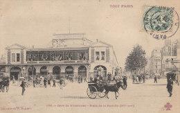 TOUT PARIS N° 1190  XII GARE Chemin De Fer De VINCENNES Fête Drapeaux STATION METRO BASTILLE ( Scan Gros Plan ) - Arrondissement: 12