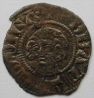 Orange Raymond V 1340-1393 TRES RARE Denier Avec La Tête ! Belle Qualité - 476-1789 Monnaies Seigneuriales