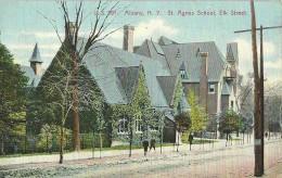 ALBANY - N.Y. / ST. AGNES SCHOOL - ELK. STREET - Albany
