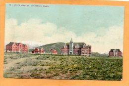 Pocatello ID State Academy 1910 Postcard - Pocatello