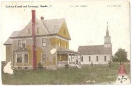 CATHOLIC CHURCH AND PARSONAGE , HAMLER - United States
