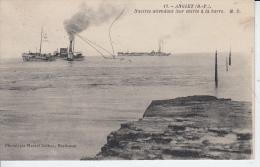 ANGLET  - Navires Attendant Leur Entrée à La Barre  ( Bayonne Boucau )  PRIX FIXE - France