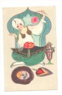 FANTAISIE - Art Nouveau - Art Oriental - Indes - Très Joli Dessin   (Y1274)b120 - Illustrators & Photographers