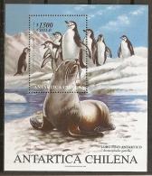 FILATELIA POLAR - CHILE 1999 - Yvert #H59 - MNH ** - Fauna Antártica