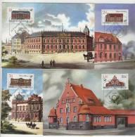 DDR Maximumkarte Michel No. 3067 - 3070 / MK 1 - 4 / 87