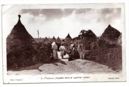 Fedala, Noualas Dans Le Quartier Chleuh, 1942, Photo Flandrin N° 9, Belle Animation, Pli H. G. (Maroc) - Marruecos