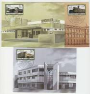 DDR Maximumkarte Michel No. 3145 - 3147 / MK 1 - 3 / 88