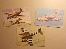Lot De 3 Cartes Postales AVIATION  Militaire (4) - Sin Clasificación