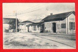 CPA: Meylan (38) - La Gare Et La Chaine Des Alpes - France