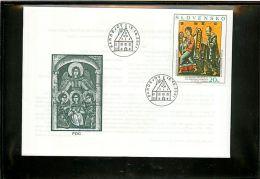 SLOVENSKO  -  FDC  -   ST  MICHELE  ARCANGELO  -   ANGEL   -   Angelo - Christianity