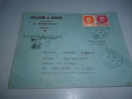 ENVELOPPE RECOMMANDEE ILOT DE SAINT NAZAIRE 28/12/1944 - 1939-45