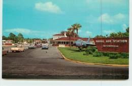 JACKSONVILLE  - Entrance To Naval Air Station. - Jacksonville