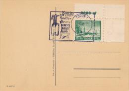 TORUN - 1948 , 25 Jahre Philatelie-Ausstellung - Covers & Documents
