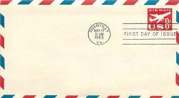 USA  -  Intero Postale  -  Stationery   -  Air Mail  8c. - 1961-80