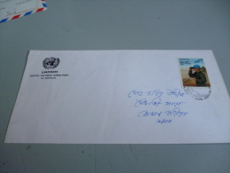 ENVELOPPE OFFICIELLE OPERATION UNOSOM SOMALIE  ARMEE DU BANGLADESH - Army & War