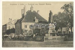 PFALZBURG - DENKMAL DES GENERAL MOUTON - Phalsbourg