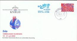 NL Niederlande 1997 Mi 1629 Viertagemarsch Nimwegen 17.7.2000 - Brieven En Documenten