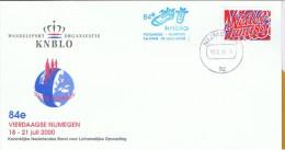 NL Niederlande 1997 Mi 1629 Viertagemarsch Nimwegen 18.7.2000 - Brieven En Documenten