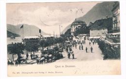 CH2362       BRUNNEN : Quai In Brunnen - LU Luzern