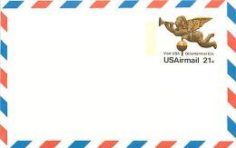 USA  -  Intero Postale  -  Stationery   -  Bicentennial  Era  21c. - 1961-80
