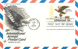 USA  -  Intero Postale  -  Stationery   - - 1961-80