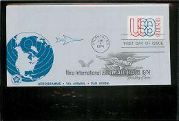USA  -  Intero Postale  -  Stationery   -   18c. - 1961-80