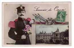 CAEN/14/Souvenir De Caen Honneur Et Patrie/Réf:4277 - Caen