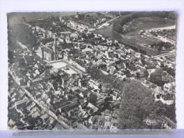BRIARE (45) - VUE GENERALE AERIENNE SUR LE CENTRE - 1952 - Briare