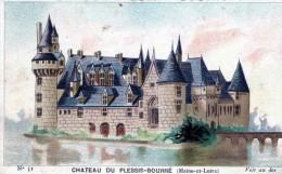 BEAU CHROMO - CHOCOLAT GUERIN-BOUTRON - LE CHATEAU DU PLESSIS-BOURRE - - Guerin Boutron