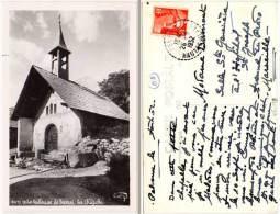 En Vallouise, Le Sarrel, La Chapelle (postée De Pelvoux, Cachet Perlé) - France