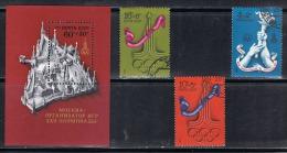 JO199 - RUSSIE N° 4339/41 Oblitérés + BF 116 Neuf** Jeux Olympiques De Moscou - 1923-1991 USSR
