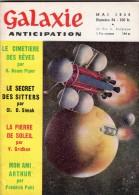 GALAXIE ANTICIPATION N° 54 (1ère Série) Mai 1958. Voir Sommaire. - Livres, BD, Revues