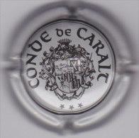 PLACA DE CAVA CONDE DE CARALT 0421 - Placas De Cava