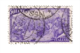 1948 Centenario Del Risorgimento 50 Lire Usato  COD FRA.214 - 1946-60: Usati