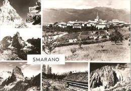 SMARANO ( VAL DI NON - TRENTO ) VEDUTINE - 1963 - Trento
