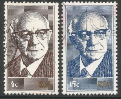 South Africa. 1975 Inaug Of State President. Used Complete Set - South Africa (1961-...)