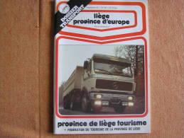 LIEGE Province D Europe Revue  N° 83 Dossier Transport Vallée De L´ Amblève Régionalisme Belgique - Belgium
