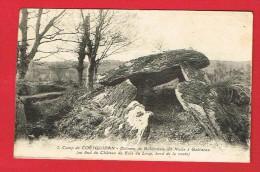 Camp De COËTQUIDAN  (Morbihan ) Dolmen De Roherman...... - Frankreich
