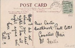 POSTAL HISTORY -1905 EXETER DUPLEX CANCELLATION - Postmark Collection