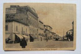 CARTOLINA Di PESCARA RIVIERA  FORMATO PICCOLO B788 - Pescara