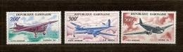 Gabon 1967 Yvertn° PA LP 52-54 *** MNH Cote 23 Euro Avions Vliegtuigen - Gabon (1960-...)