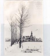 Photo De LOUPOIGNE (Belgique) Province Du Brabant Wallon;Eglise Ou Chapelle,paysage Sous La Néige - Places