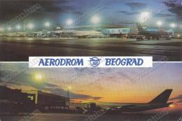 AERODROM, AIRPORT, BEOGRAD, BY NIGHT, SERBIA Vintage Old Postcard - Zambia
