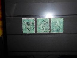 Lot7. Lot De Sages Oblitéré GC 2972.3068.4026,ext...ind 13 Minimum - 1876-1898 Sage (Type II)